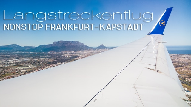 Südafrika #1: mit Condor nonstop ab Frankfurt nach Kapstadt - das Entertainment on demand in den Langstreckenkabinen