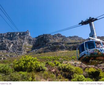 Südafrika: Sightseeing in Kapstadt - Seilbahn zum Tafelberg