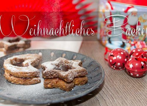 Weihnachtliches Backen: Rezepte für Orangen-Kokos-Makronen und Linzer Sterne