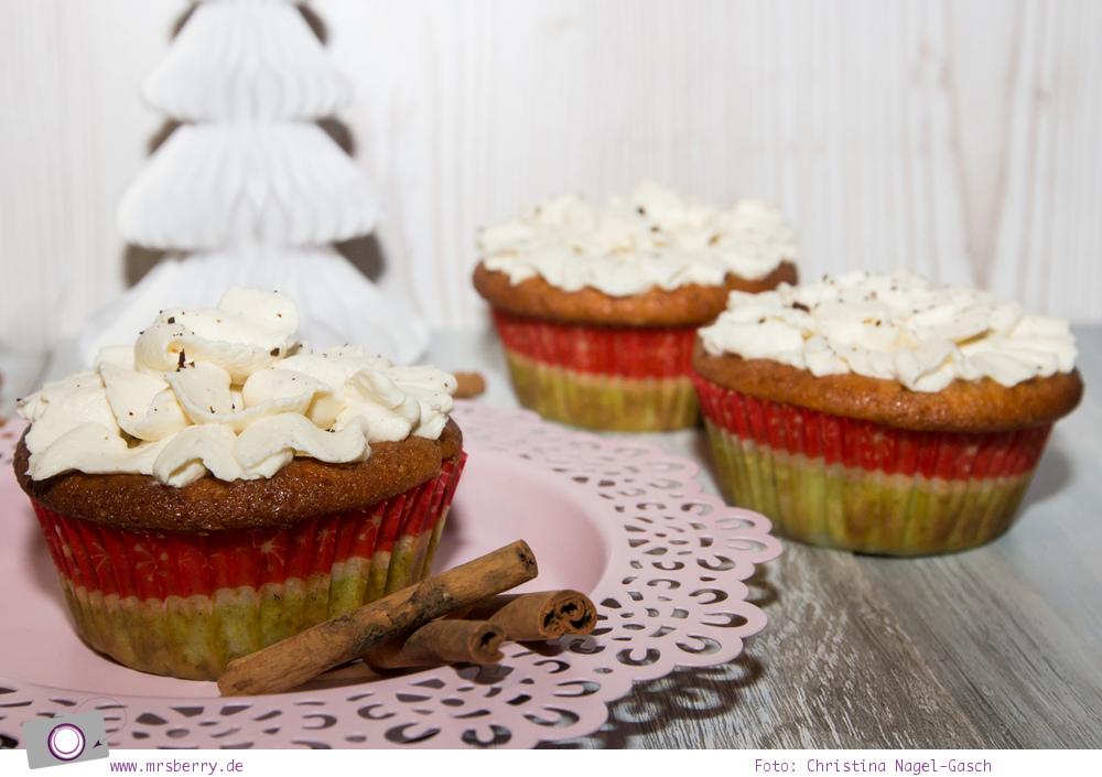 Rezept für Apfel-Zimt-Cupcakes