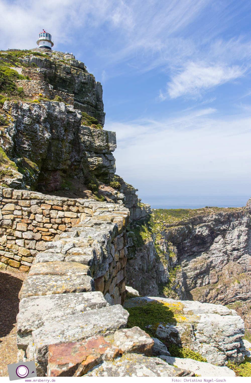 Südafrika: der alte Leuchtturm am Cape Point