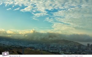 Südafrika: Kapstadt im Sonnenuntergang
