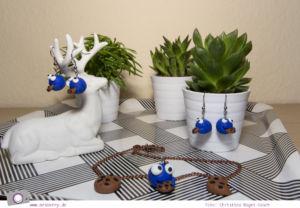 DIY: ein Krümelmonster aus Fimo basteln