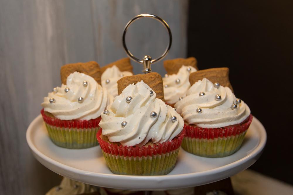 Rezept Spekulatius Cupkakes - Cupkakes zu Weihnachten
