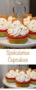Rezept für weihnachtliche Spekulatius Cupcakes