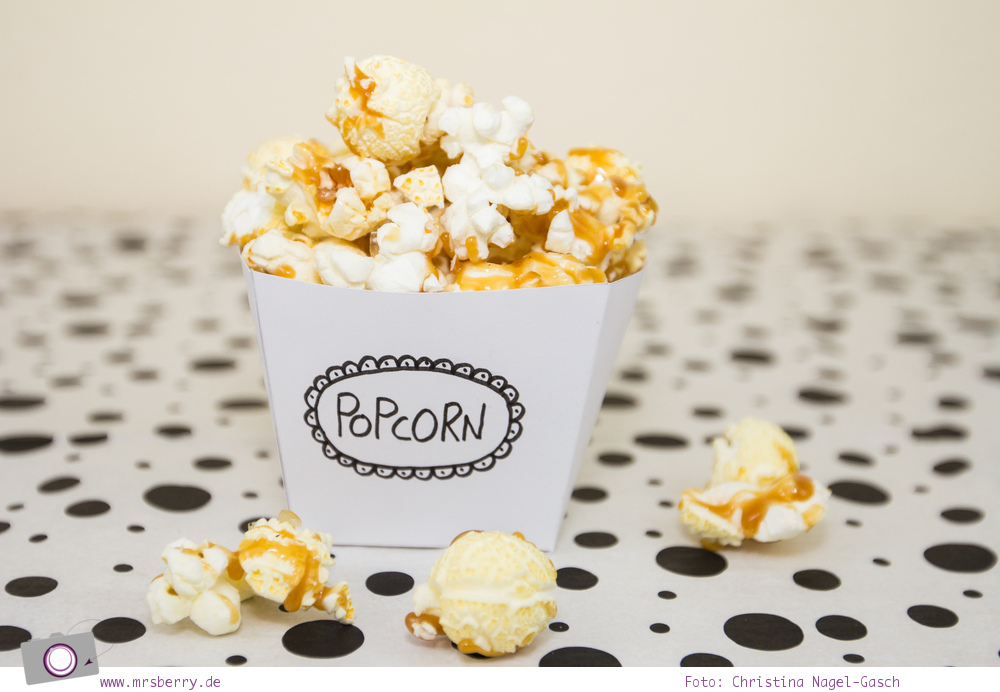geschenktipp diy kino gutschein mit popcorn. Black Bedroom Furniture Sets. Home Design Ideas