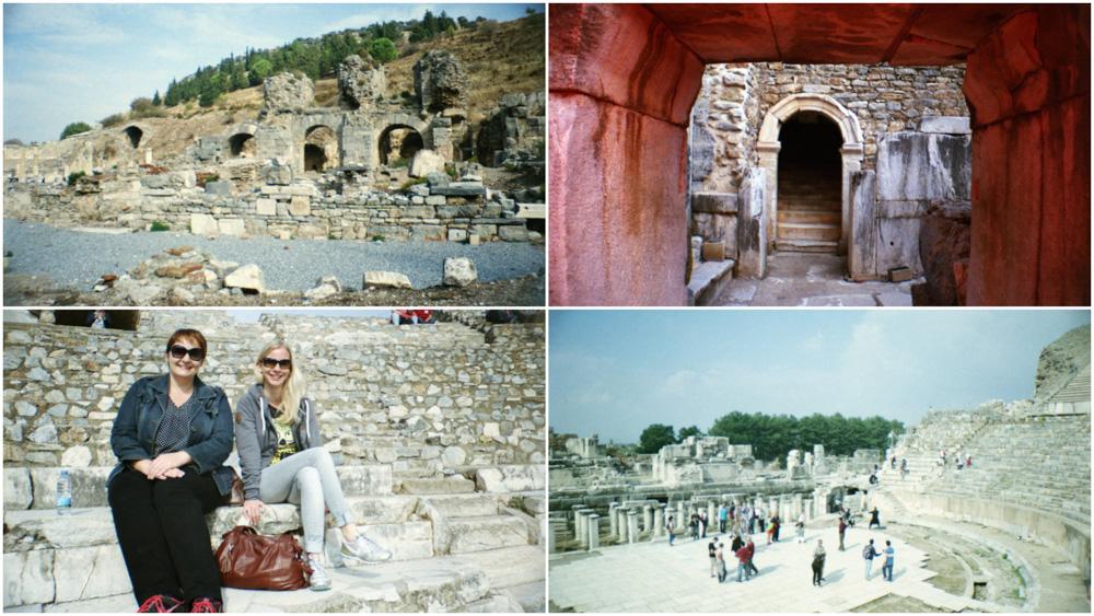 Lomography mit der La Sardina in der Türkei - Unesco Welterbe Ephesos mit Celsus