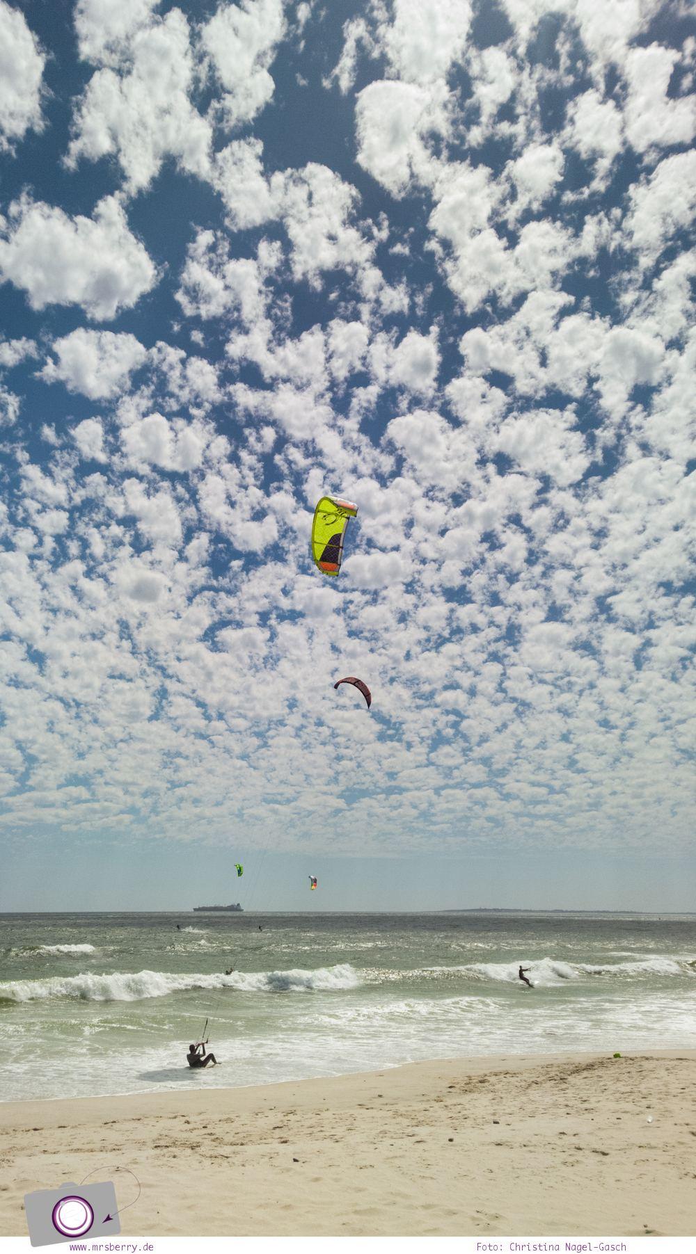 Südafrika: Surfen rund um Kapstadt - Blouberg: Dolphin Beach