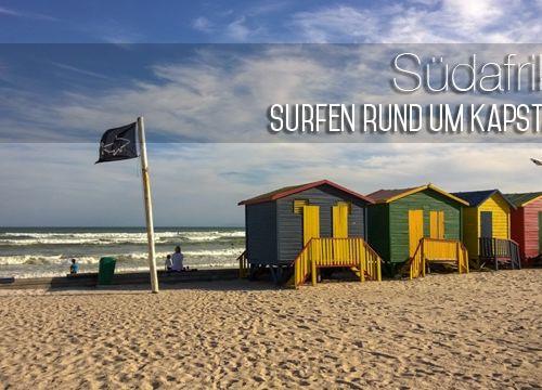 Südafrika #6: Surfen in und um Kapstadt