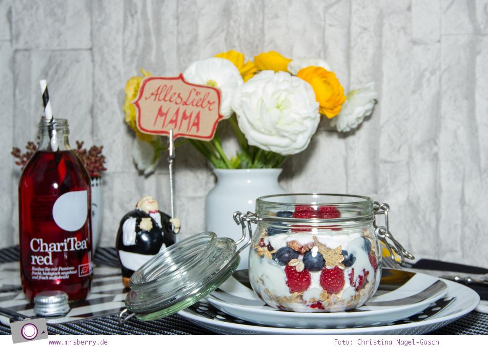 Muttertagsgeschenke: Beerenmüsli im Weckglas