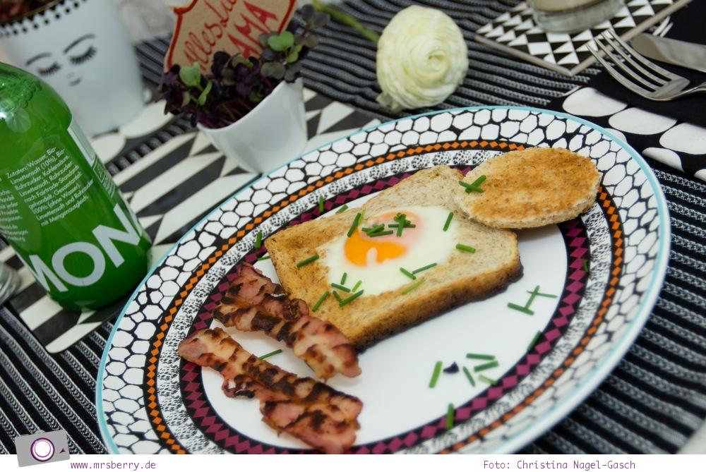 Muttertagsgeschenke: Spiegelei-Toast mit krossem Bacon