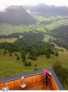 Familienurlaub im PillerseeTal: Jakobskreuz auf dem Aussichtsberg Buchensteinwand