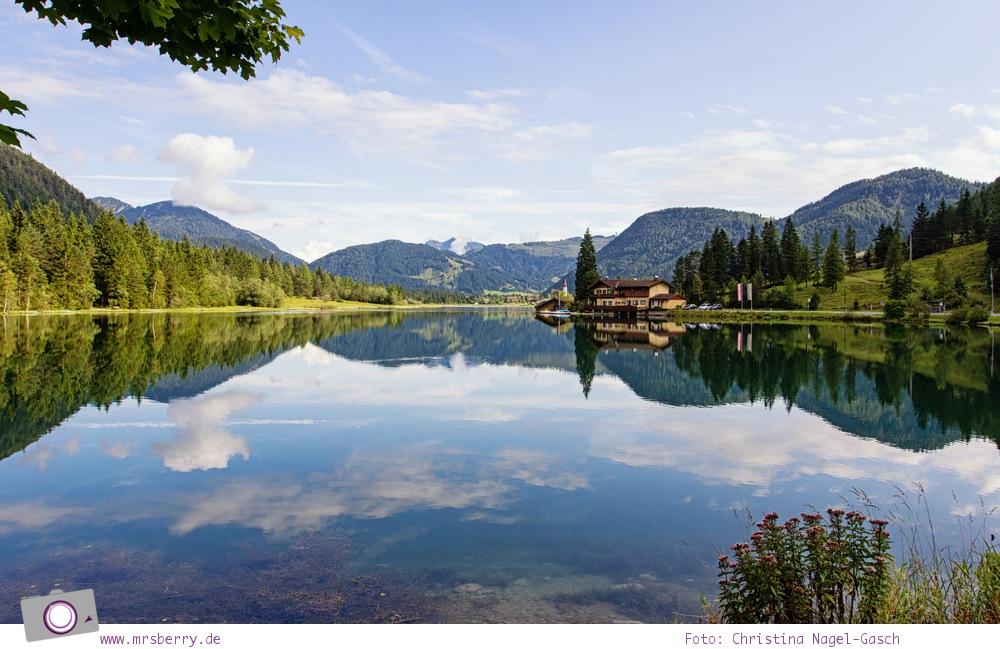 Familienurlaub im PillerseeTal: Bergpanorama im Pillersee