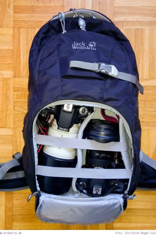Fotorucksack Test: Wolfskin ACS Photo Pack