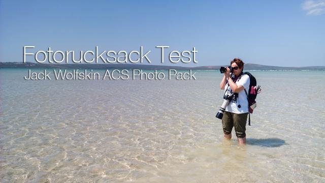 Fotorucksack Test: Jack Wolfskin ACS Photo Pack - Kamerarucksack und Wanderrucksack (Daypack) in einem