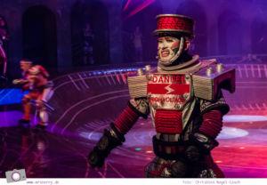 Musical für Kinder: Starlight Express in Bochum - Krupp, der Rüstungswagen