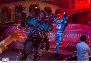 Musical für Kinder: Starlight Express in Bochum - Dustin, der Eisenerztender