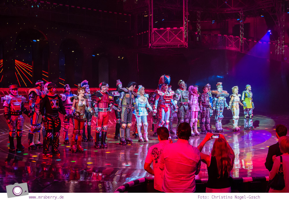 Musical für Kinder: Starlight Express in Bochum - auf der Bühne