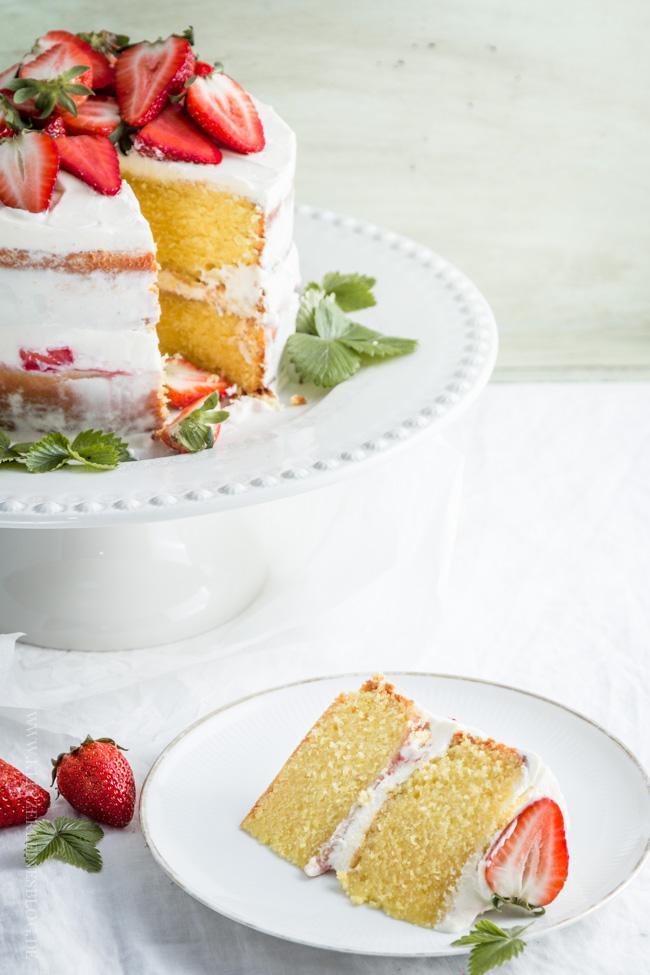 Rezept für Erdbeer-Zitronen-Törtchen mit Lemoncurd von Klitzklein