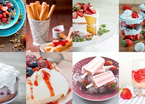 Erdbeeren: 7+1 köstliche Rezepte zur Erdbeerzeit
