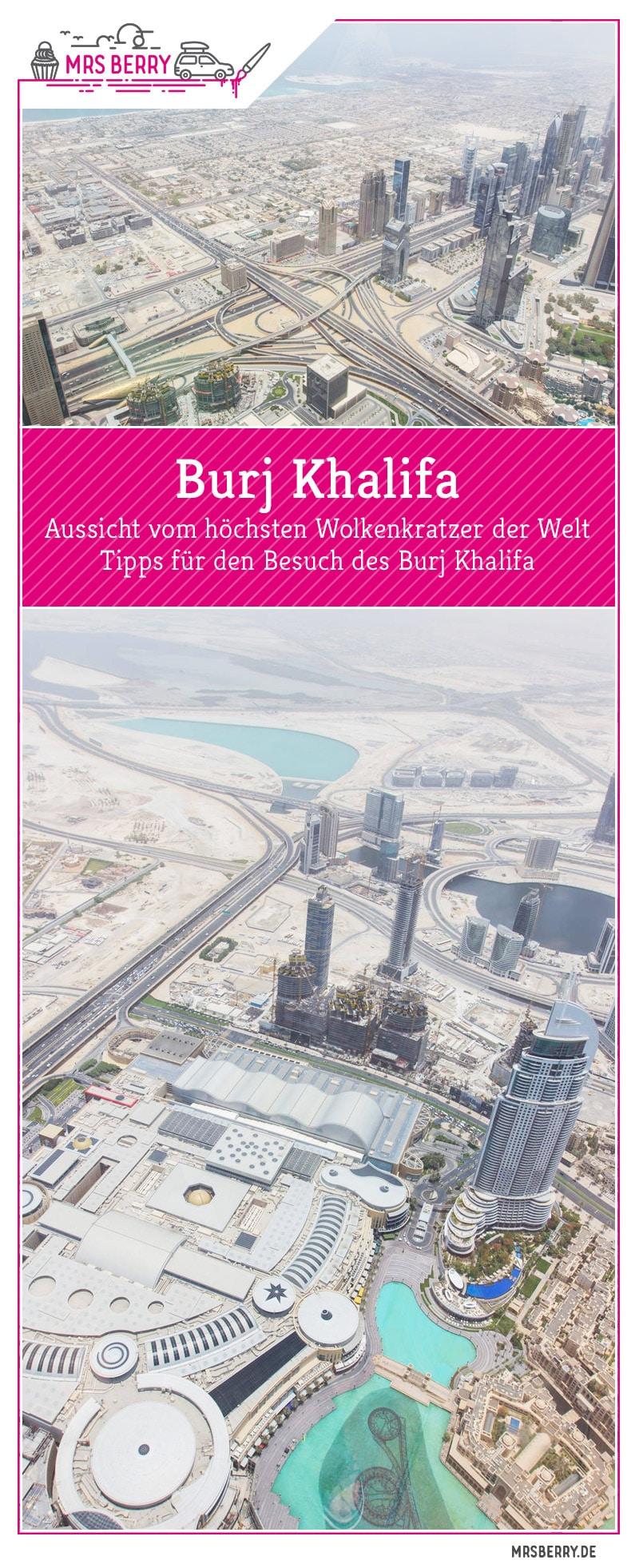 Burj Khalifa At The Top - Besuch der höchsten Aussichtsplattform der Welt - Tickets & Tipps für deinen Besuch