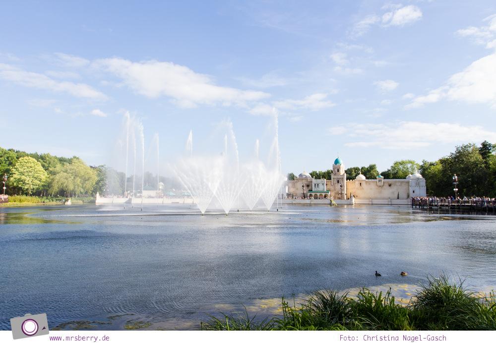 Familienurlaub im Ferienpark und Freizeitpark Efteling: Aquanura ist Europas größte Wassershow