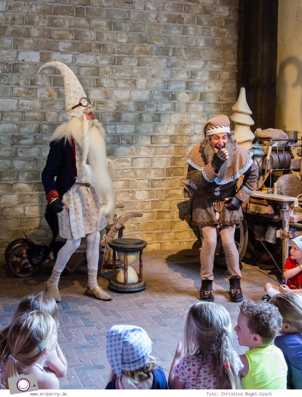Familienurlaub im Ferienpark und Freizeitpark Efteling: der Sandmann Klaas Vaak kommt