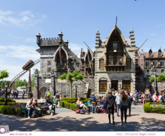 Familienurlaub im Ferienpark und Freizeitpark Efteling: der Fliegende Holländer