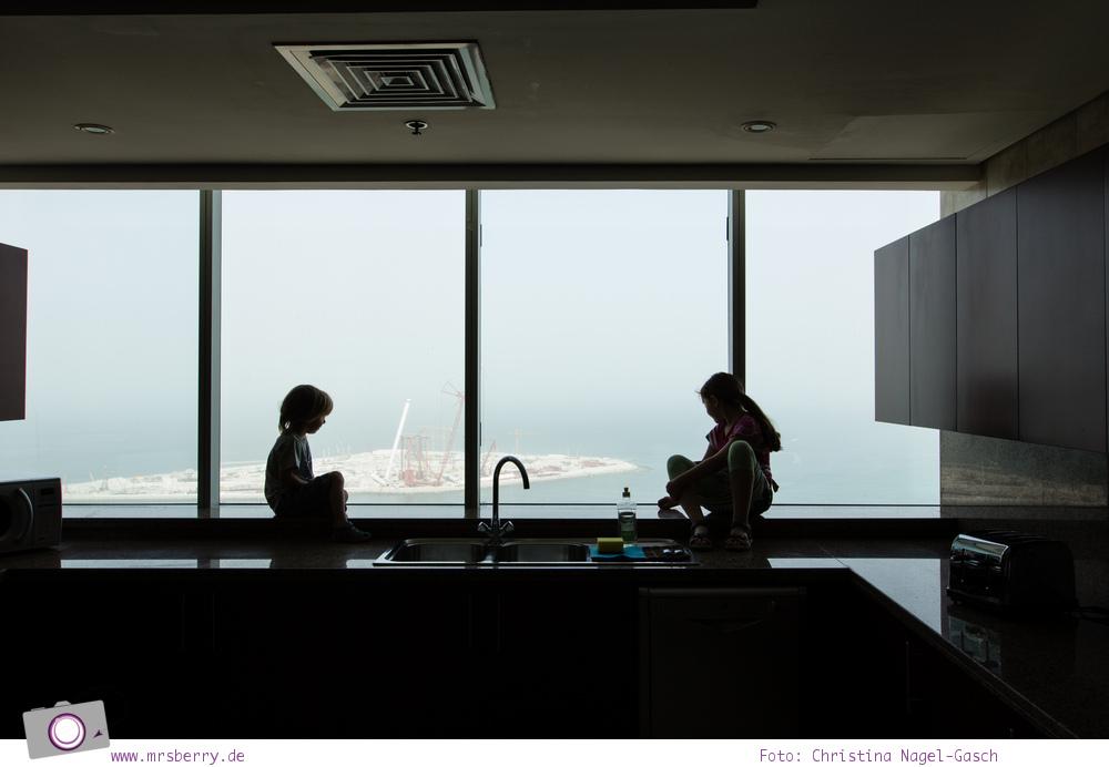 Fernseisen - Dubai mit Kind: JA Oasis Beach Tower mit Ausblick von der 37. Etage