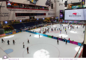 Fernreisen - Dubai mit Kind: Eislaufbahn in der Dubai Mall