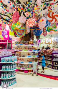 Fernreisen - Dubai mit Kind: Candylicious, Schlaraffenland für Kinder in der Dubai Mall