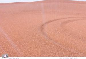 Fernreisen - Dubai mit Kind: Regen und Hagel in der Margham Wüste