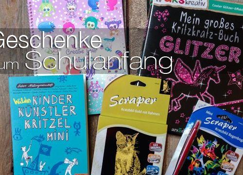 6 kreative Geschenke zum Schulanfang