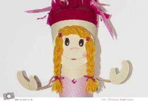 Schultüte basteln: Anleitung für Prinzessin Zuckertüte zum Schulanfang