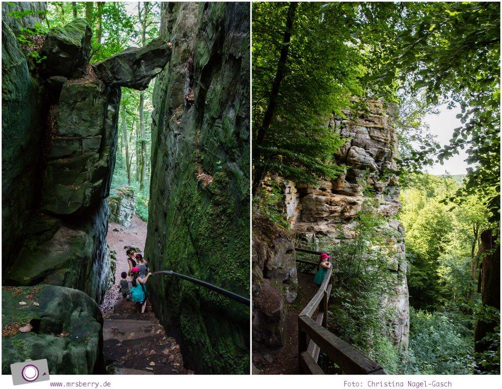 Ausflüge in Rheinland-Pfalz (Eifel): Wandern in der Teufelsschlucht