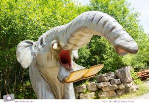 Ausflüge in Rheinland-Pfalz (Eifel): Zeitreise im Dinosaurierpark