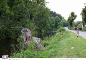 Camping mit Kindern in der Eifel - Prümtal Camping Oberweis: idyllisch an der Prüm gelegen