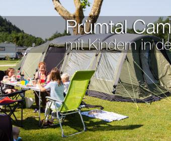Camping mit Kindern in der Eifel - Prümtal Camping Oberweis
