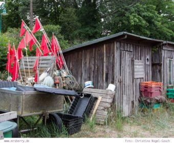 Familienurlaub auf Usedom: Fischerhäuschen in den Dünen bei Heringsdorf