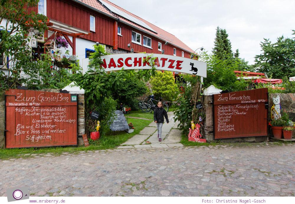 Familienurlaub auf Usedom: Cafe Naschkatze in Krummin