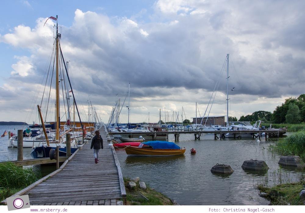 Familienurlaub auf Usedom: Naturhafen in Krummin