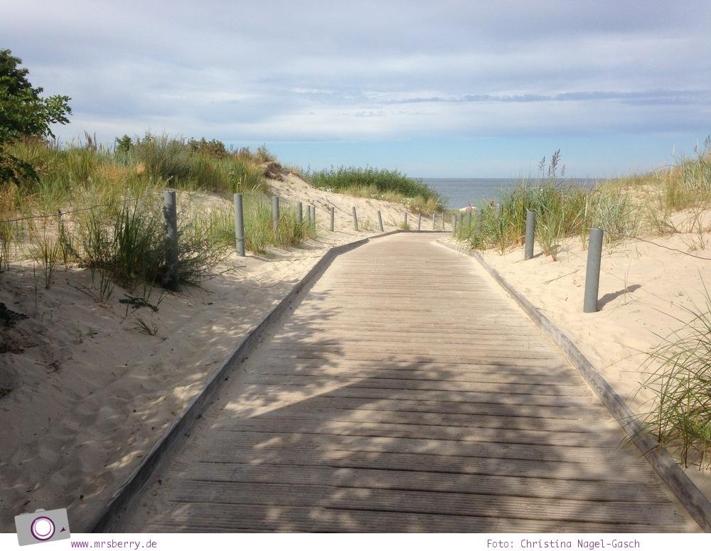 Familienurlaub auf Usedom: Strandzugang in Heringsdorf