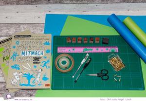 Geschenke schön verpacken: Schulranzen zur Einschulung basteln