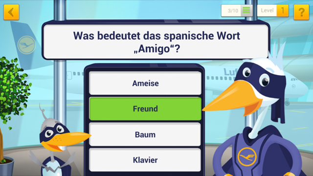 MrsBerry Test: Lufthansa JetFriends App für Kinder