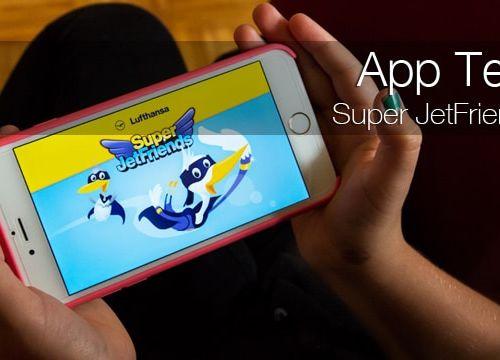 Super JetFriends – Lufthansa App für Kinder