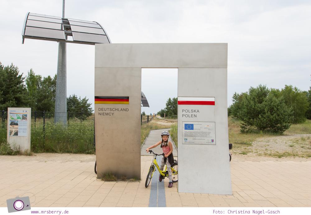 Usedom - Ausflüge für Familien und Kinder: eine Radtour durch die drei Kaiserbäder bis nach Polen
