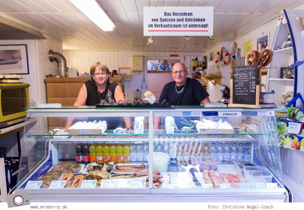 Usedom - Ausflüge für Familien und Kinder: eine Radtour durch die drei Kaiserbäder - Fischräucherei Brüder Schwarz