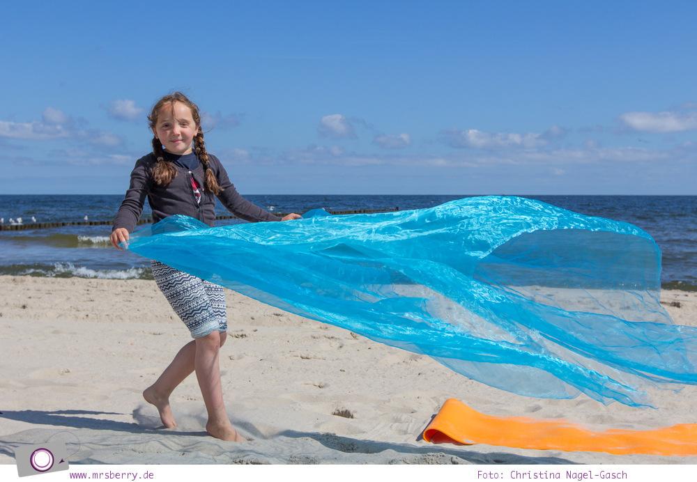 Usedom - Ausflüge für Familien und Kinder: Kinderyoga am Strand
