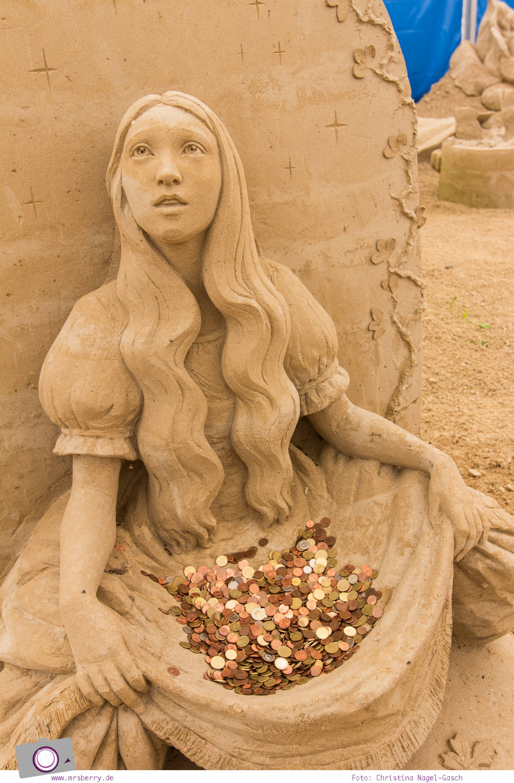 Usedom - Ausflüge für Familien und Kinder: Sandskulpturenfestival zw. Ahlbeck und Polen