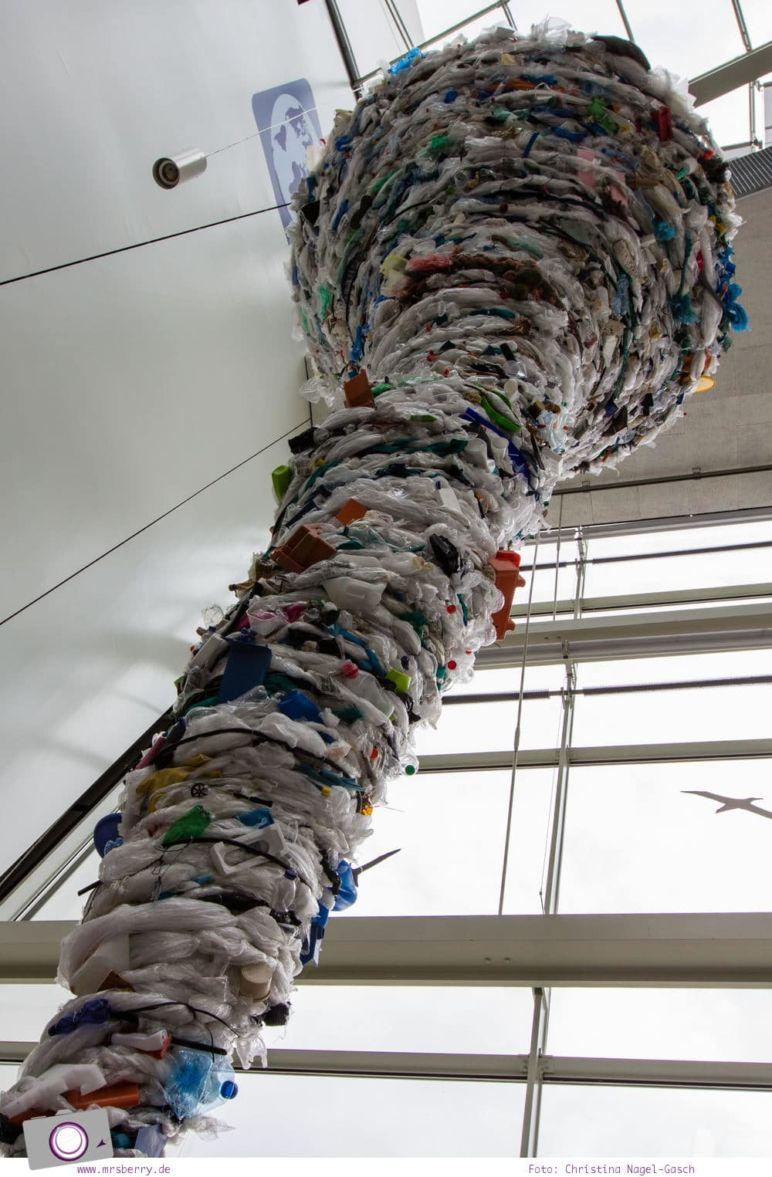 Ozeaneum in Stralsund: Müllstrudel